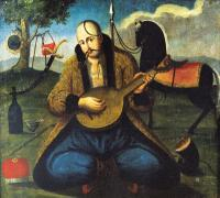 kobza bandura player