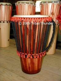 tribal thunder ashiko pony drum