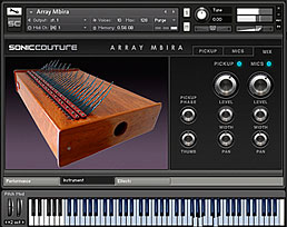 soniccouture array mbira vst