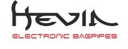 Hevia electronic bagpipes logo